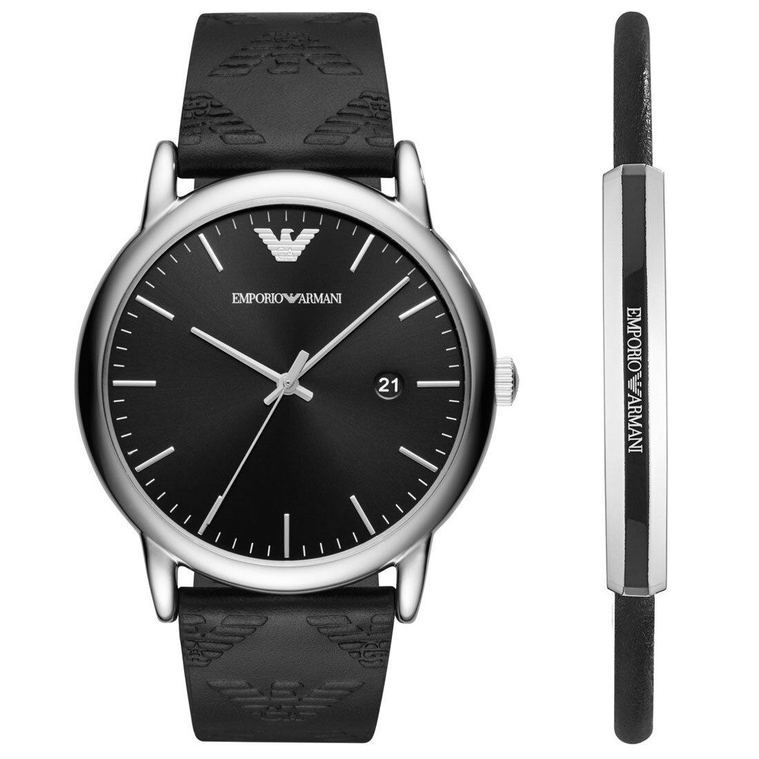 AR80012 Erkek Set Kol Saati ve Bileklik