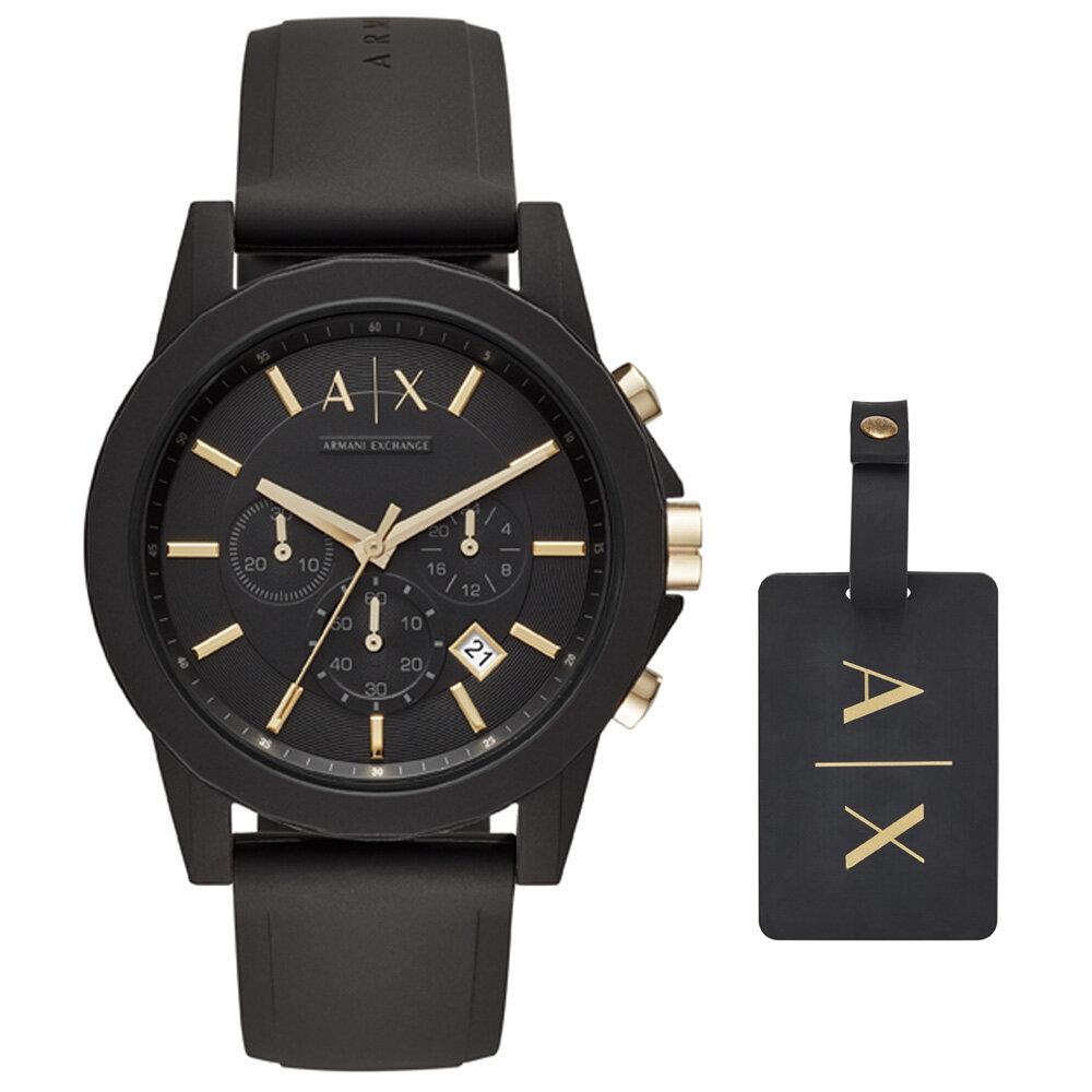 AX7105 Erkek Set Kol Saati ve Anahtarlık