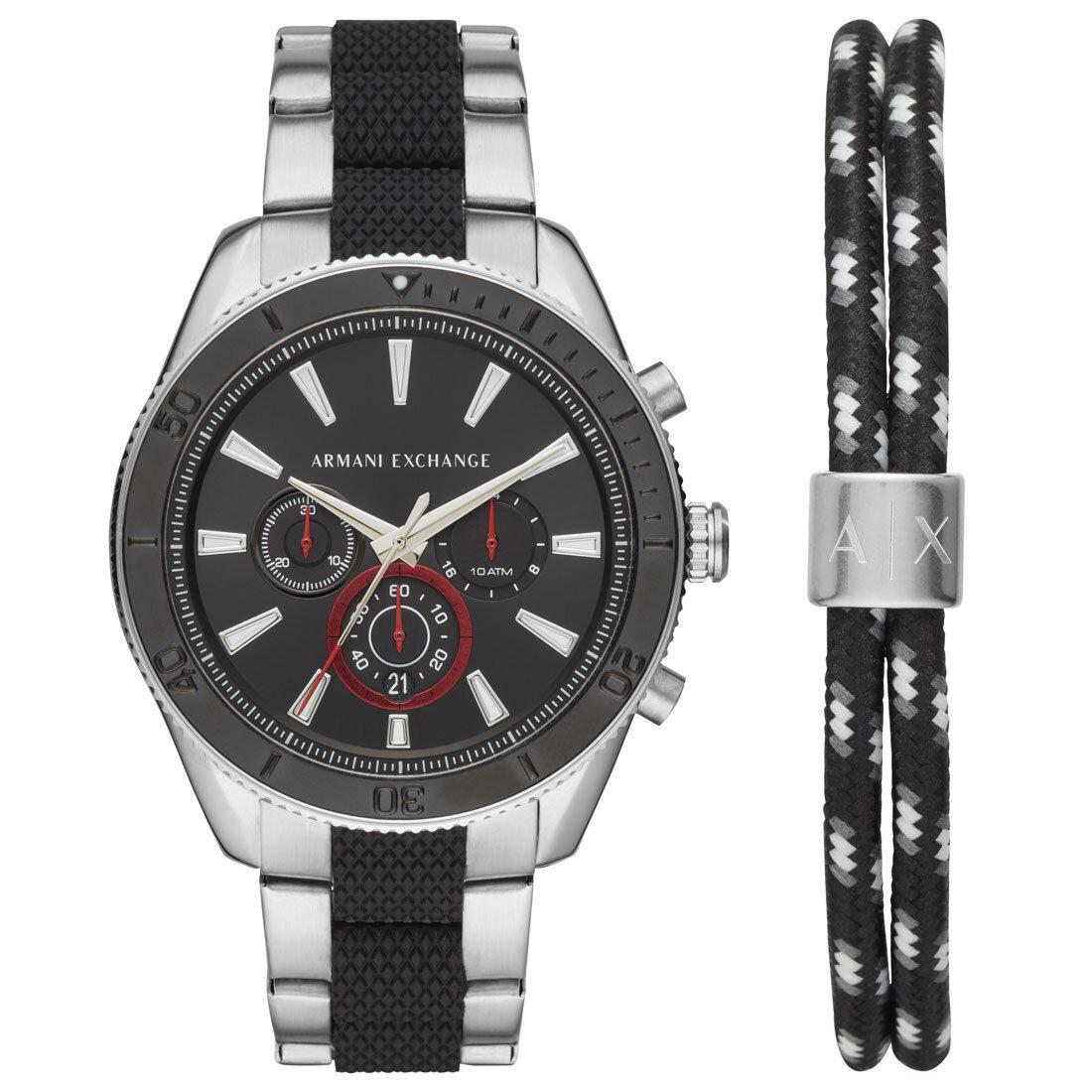 AX7106 Erkek Set Kol Saati ve Bileklik