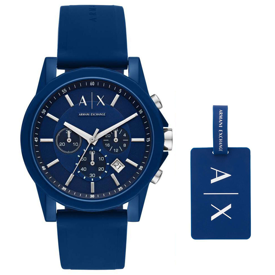 AX7107 Erkek Set Kol Saati ve Anahtarlık