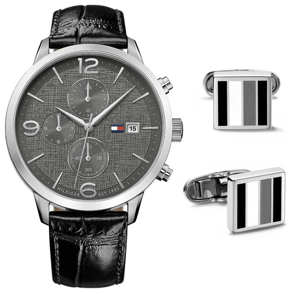 TH1770015 Erkek Set Kol Saati ve Kol Düğmesi