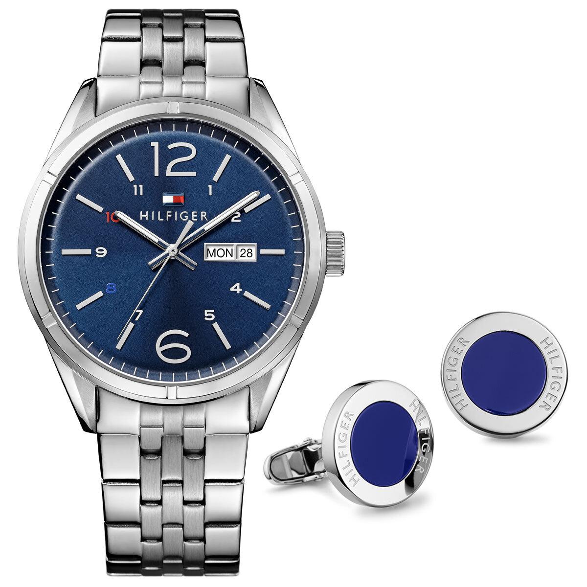 TH2770023 Erkek Set Kol Saati ve Kol Düğmesi